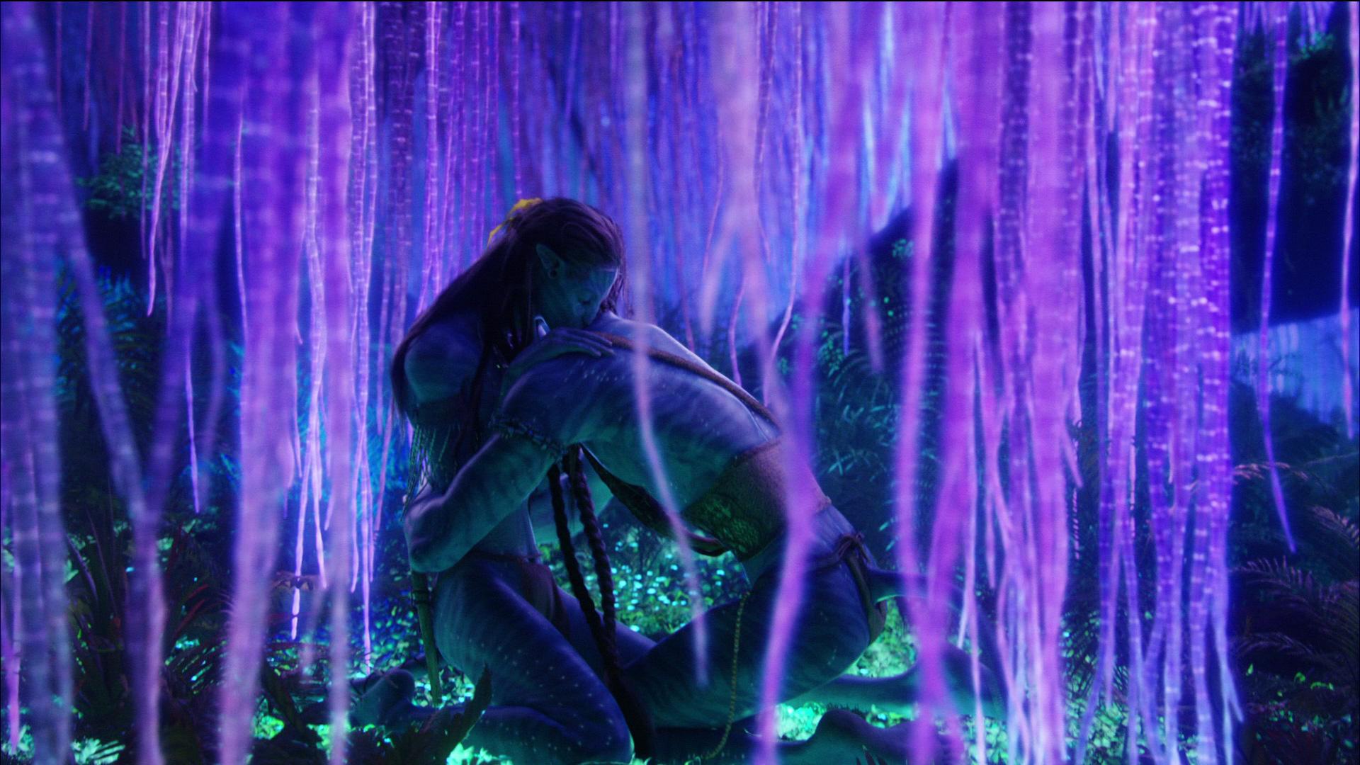 Джек Салли и Нейтири из фильма Аватар  № 1385725 без смс