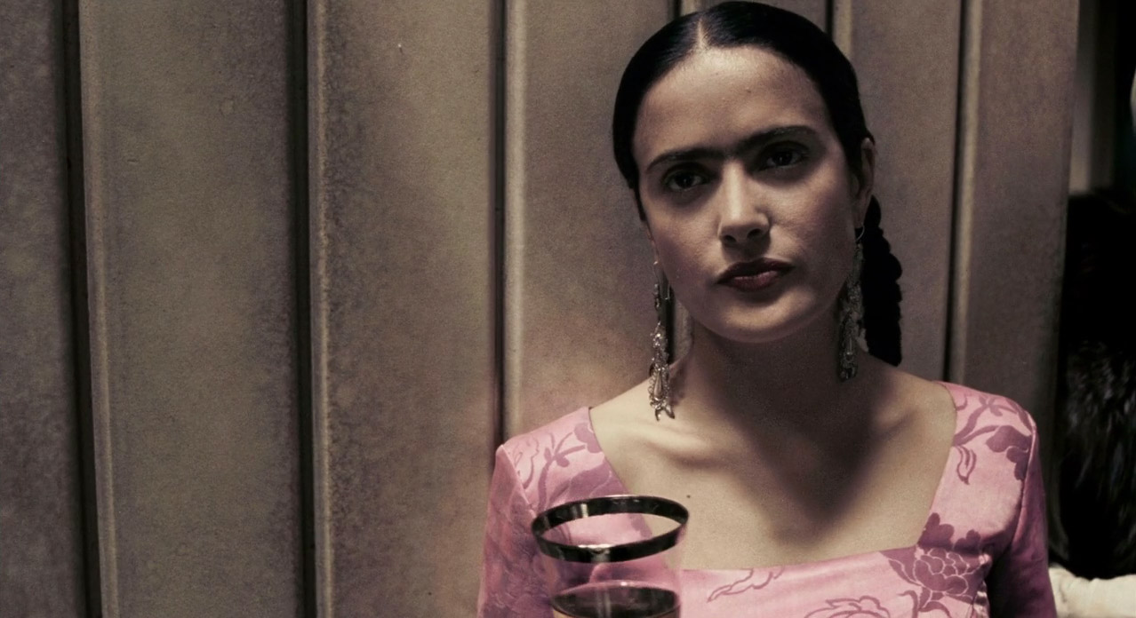 frida movie Though frida is easier to swallow than julie taymor's preposterous titus, the eye  candy here lacks considerable brio a magical realist's trolley.