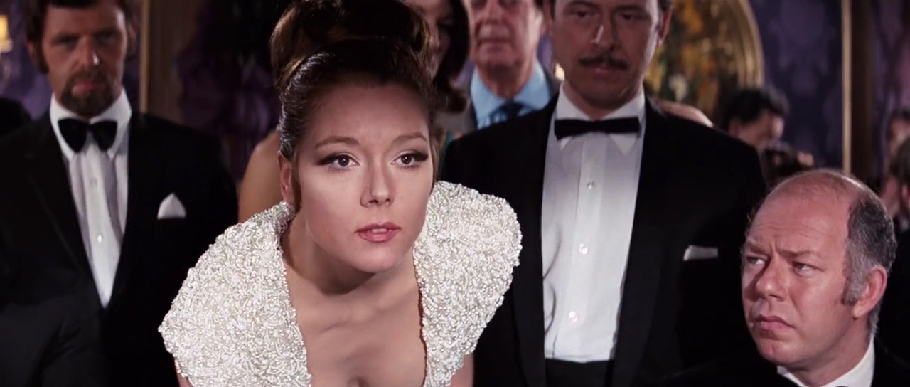 Image result for Diana Rigg on her majesty's