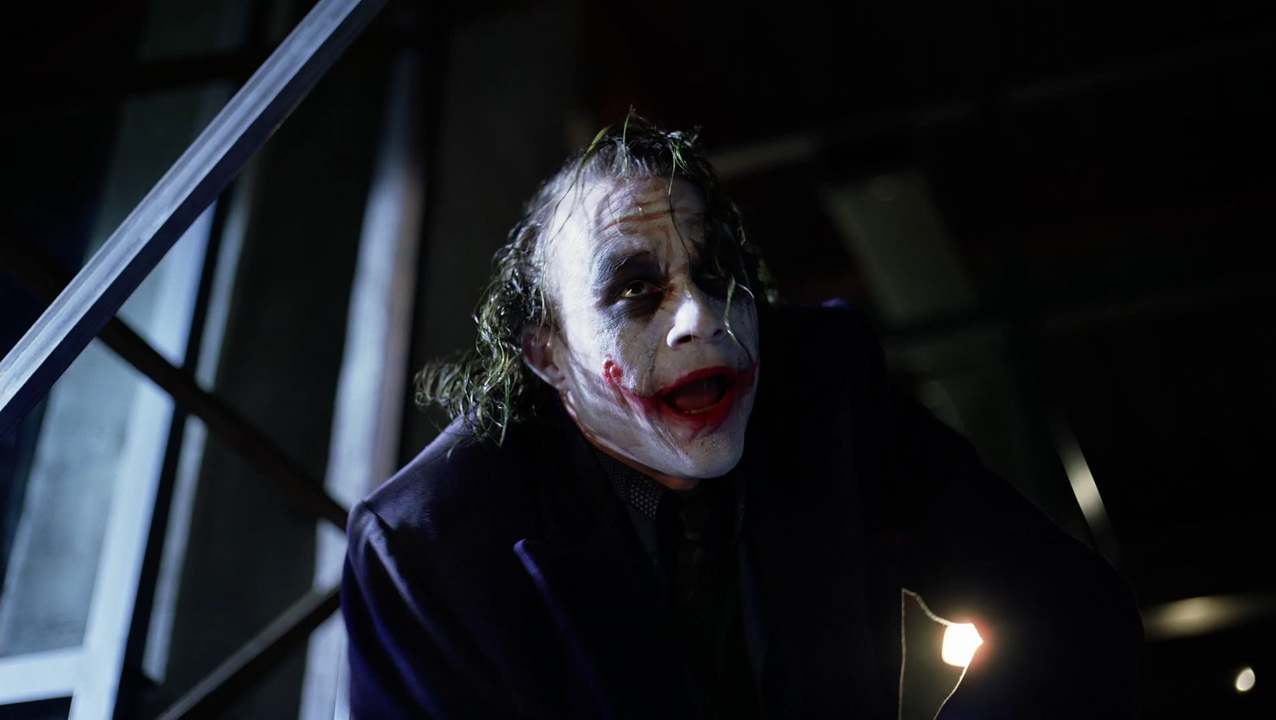 essay joker dark night Ever since the dark knight was created, the joker has been thrust back into the public eye most people only know the joker from the performances of heath ledger in the dark knight and jack nicholson in the 1989 film batman.