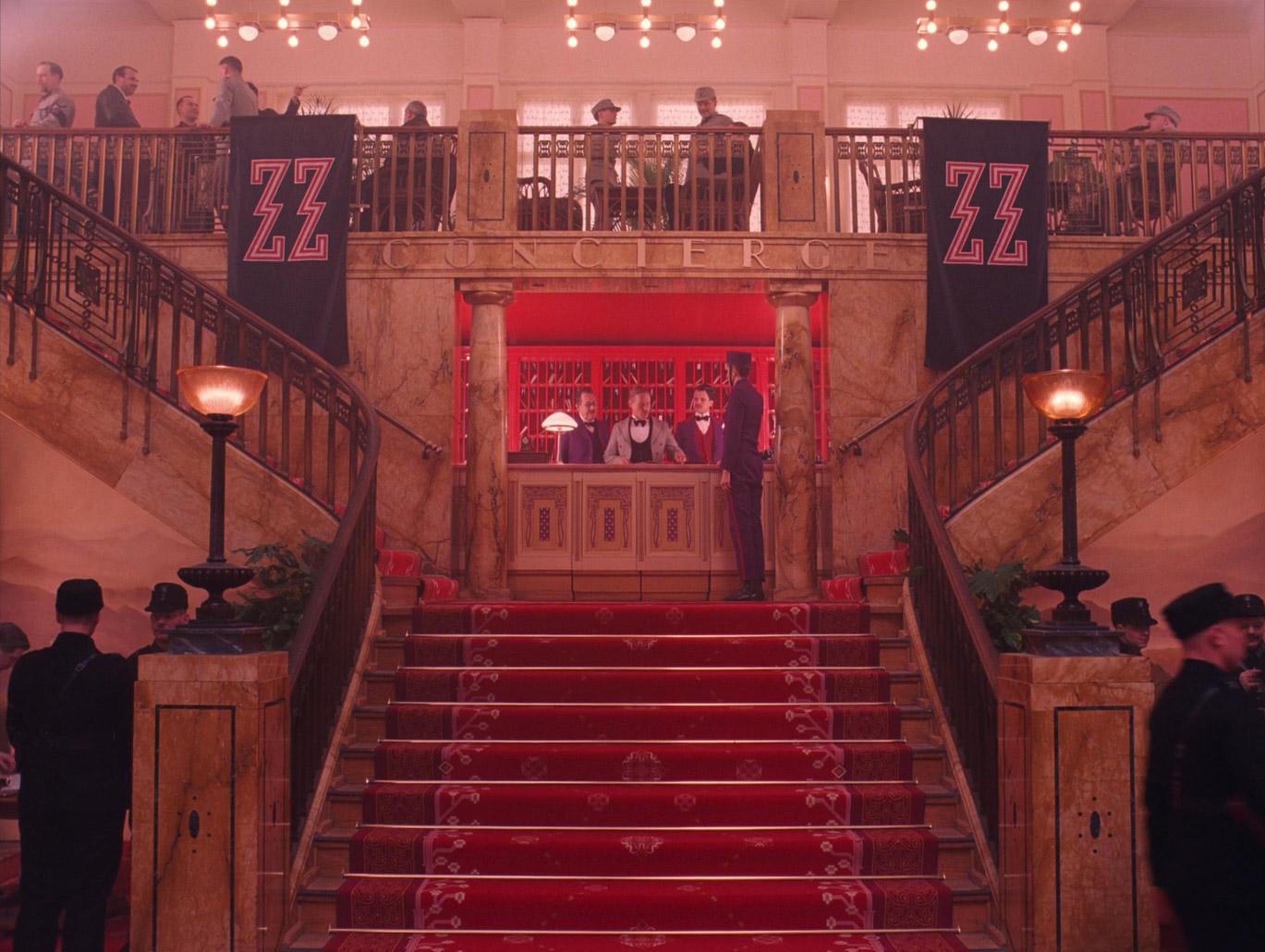 Edward Norton Grand Budapest Hotel