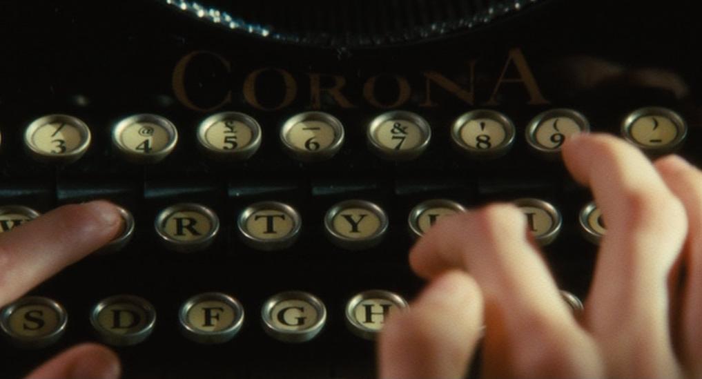 atonement typewriter