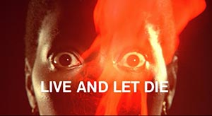Live and Let Die. Cinematography by Ted Moore (1973)